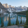 The Jewel of the Canadian Rockies, Moraine Lake.