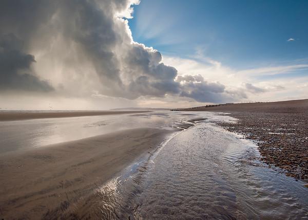 Rye Harbour Beach - Storm Passing