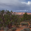 Devil's Garden (sunlit, distance) - Arches National Park - Utah