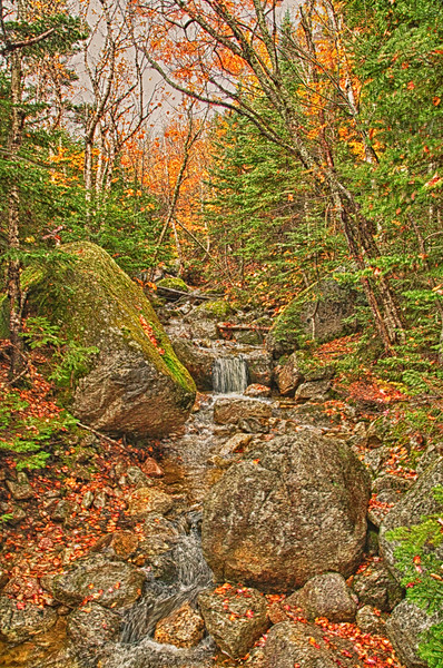Roaring Brook to Chimney Pond hike to the base of Mount Kathadin Baxter State Park, Maine.