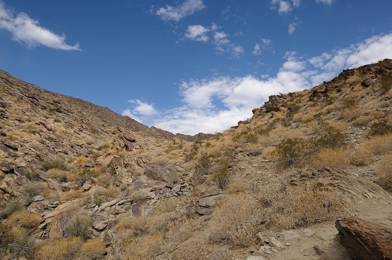 Lykken Trail, Palm Springs, October