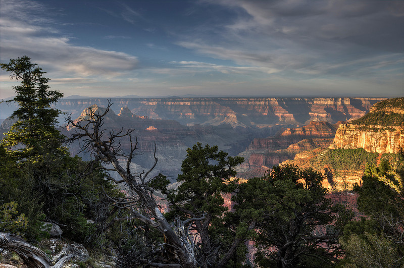 Grand Canyon North Rim Sunrise - Arizona