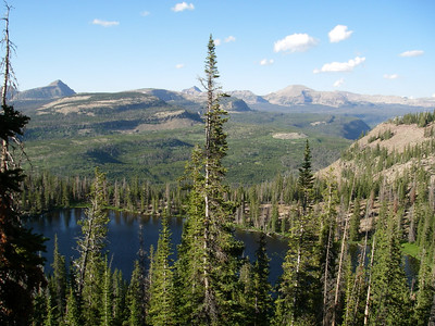 Broadhead Lake in the Duchesne River drainage of the Uintas.  Photo by Matthew McKell.