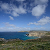 View from Il-Majjistral Park, Malta, March