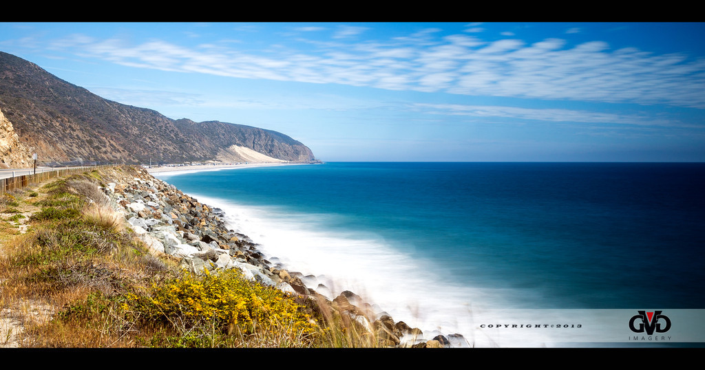 Pacific Coast Highway; Malibu, Ca.