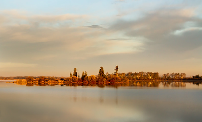 Wakomao Lake, Westlock County, AB, Canada