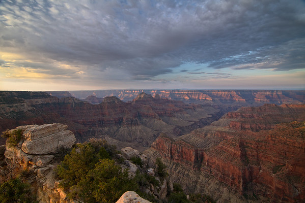 The Grand Canyon from Bright Angel Point. <br /> <br /> You can start to see why some people believe the Grand Canyon is the most photographed landscape on Earth.