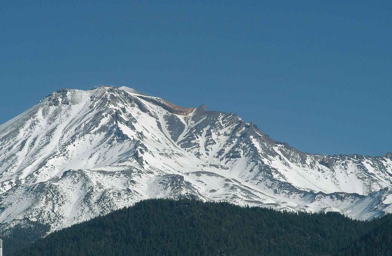 Mount Shasta, California November 2002.