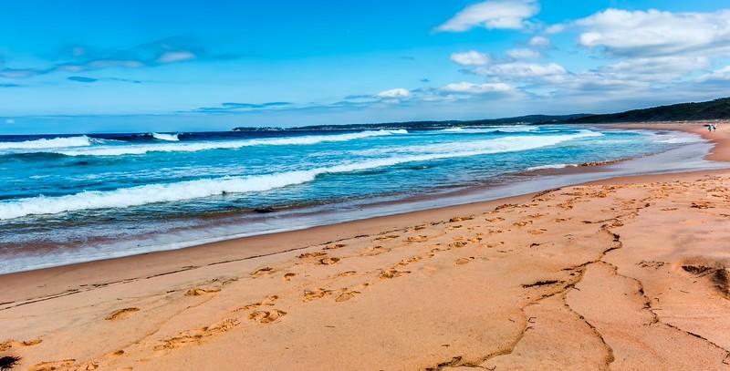 Beach near the Camel Rocks