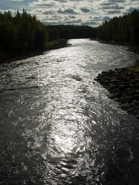 Metal river