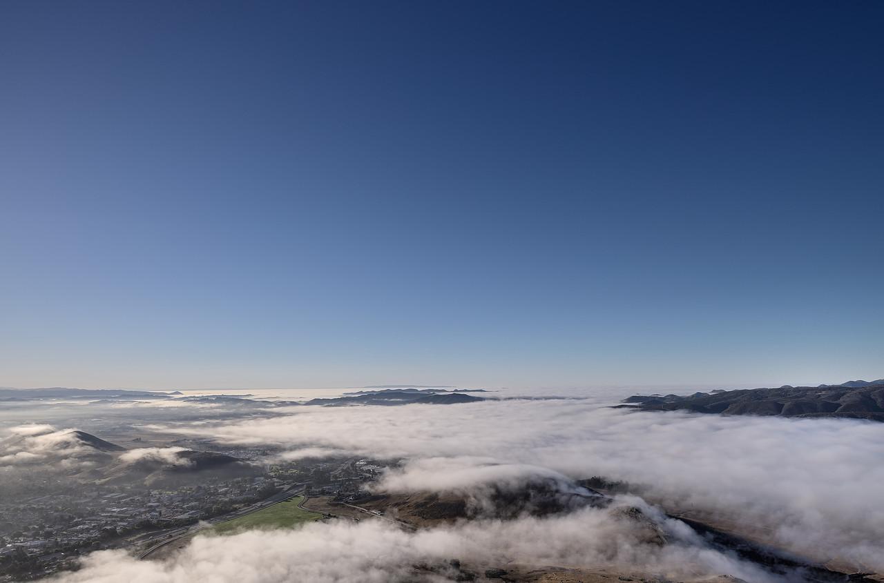 View from Cerro San Luis Obispo, October