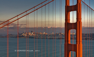 Golden Gate Bridge - San Francisco Sunset