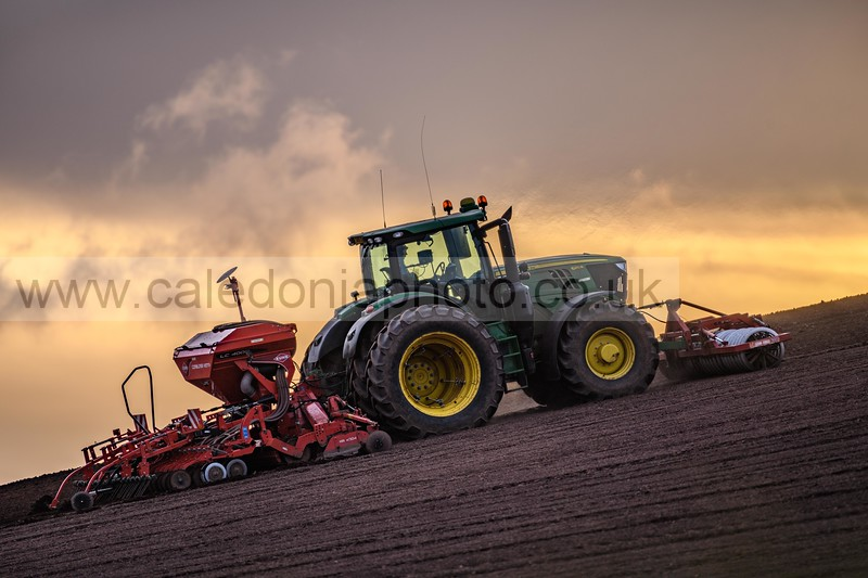 Farming at Duns, Berwickshire