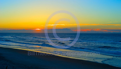 Oh hum, just another sunrise on Top Sail Island, NC.