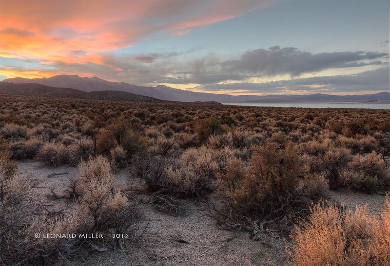 Mono Lake Sunset - 2012
