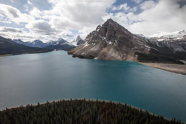 Bow Lake, Banff. Ab.
