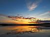 Sunset over Hope Lake, AB