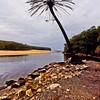Royal National Park, NSW Australia<br />  Part of Wattamolla beach<br /> <br />  29th June 2013<br />  Canon 6D+EF 17-40mm f/4L, ISO 400, FL 17mm, f/8, 1/400sec