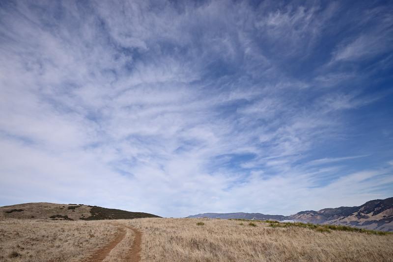 Lookout Hill Trail, San Luis Obispo, October