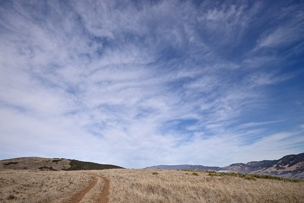 Lookout Hill Trail, San Luis Obispo, October