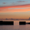Sunset - Hastings Harbour Wall