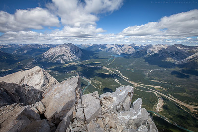 Mt.Rundle Summit