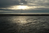 Allonby beach in the winter