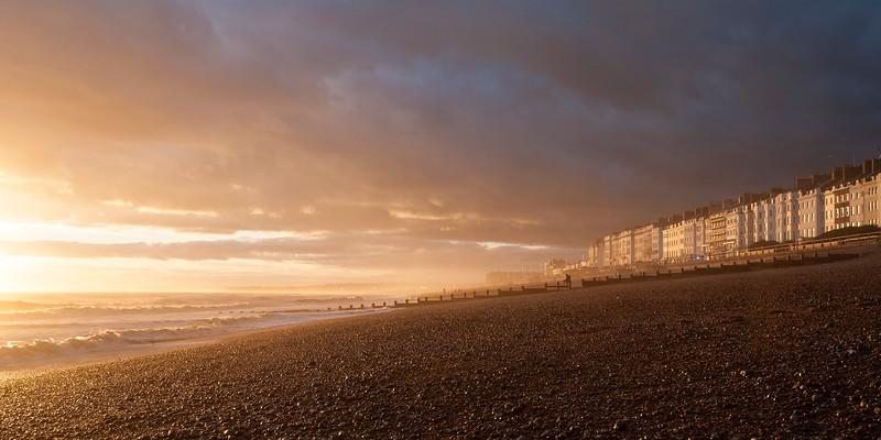 St Leonards On Sea - Sunset