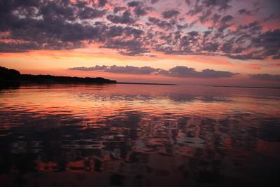 Neuse River sunset, New Bern, NC