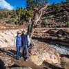 Toquerville Falls after rain storm, 20 March 2020