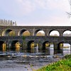 Road and Rail Bridges over the River Maine<br /> Randalstown<br /> County Antrim<br /> 10th April 2015