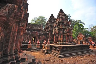 Banteay Srei, Siem Reap, Cambodia