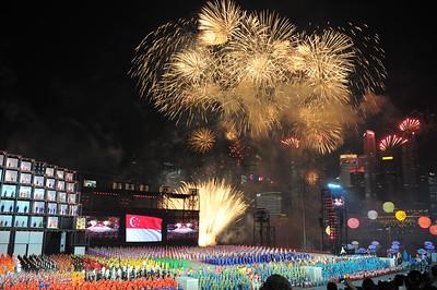 Singapore National Day Celebration 2011