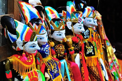 Puppets, Bali, Indonesia