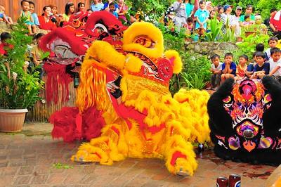 Lion Dance, Kota Kinabalu, E. Malaysia