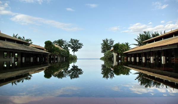 Reflection Pool, Mai Khao, Phuket, Thailand