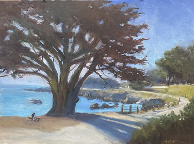 Morning Walk in Pacific Grove