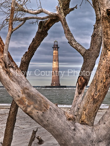 Morris Island Lighthouse at Folly Beach South Carolina Won 2nd Place in an International Light House Contest. More information here: http://mike-covington.artistwebsites.com/featured/lighting-the-way-mike-covington.html The Watermark will not show on printed images