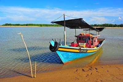Fishing Boat, Kelantan, Malaysia