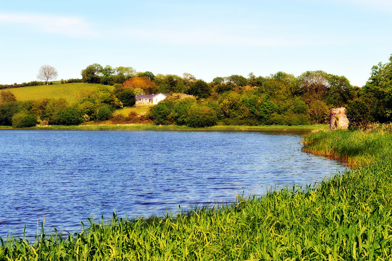 The River Quoile near Downpatrick, County Down.<br /> Thursday, 11th June 2015