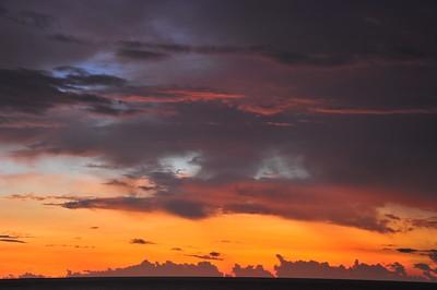 Sunrise, Kampong Pulau Suri, Kelantan, Malaysia