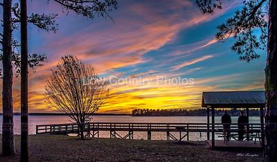 Lake Murray Sunset - Columbia, SC