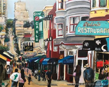 Green Street in SF - Jane Farley