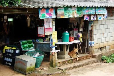 A provision shop, Chang Mai, Thailand