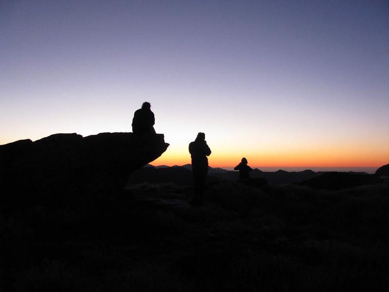 Sunset on the Haast Range, New Zealand