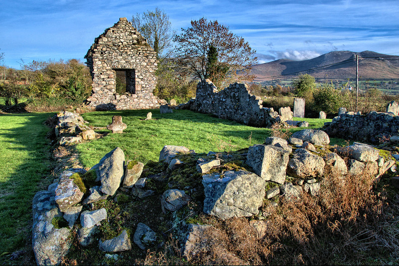 Clonduff Old Church and Graveyard, Hilltown, County Down