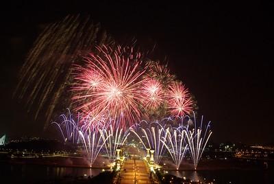 Fireworks, Putra Jaya, Malaysia