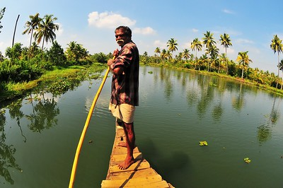 Boatman, Kottayam, Kerala, India