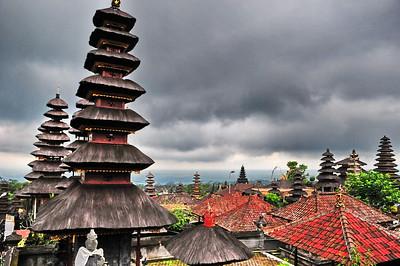 Stupas, Bali, Indonesia