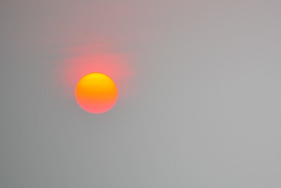 The sun, Ninh Binh, Vietnam